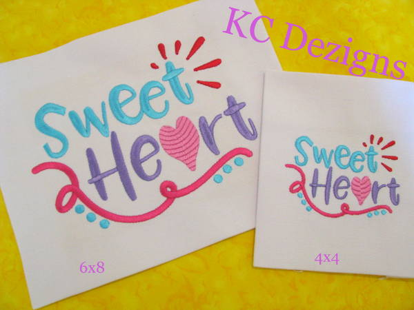 Sweet Heart Embroidery