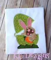 Bob The Bunny Applique