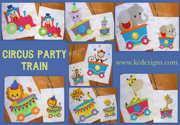 Circus Party Train - Full Set