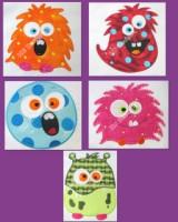 Cute Monsters 1-5 Applique
