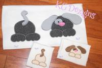 Front and Back Dog Applique