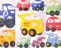Fun Applique Cars Full Set