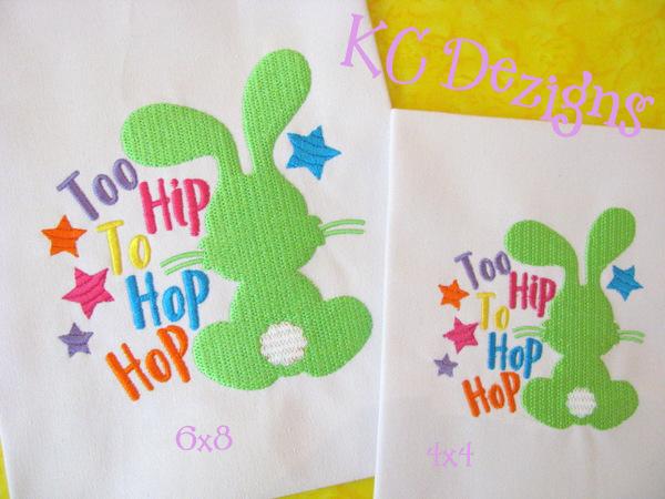 Too Hip To Hop Hop Bunny