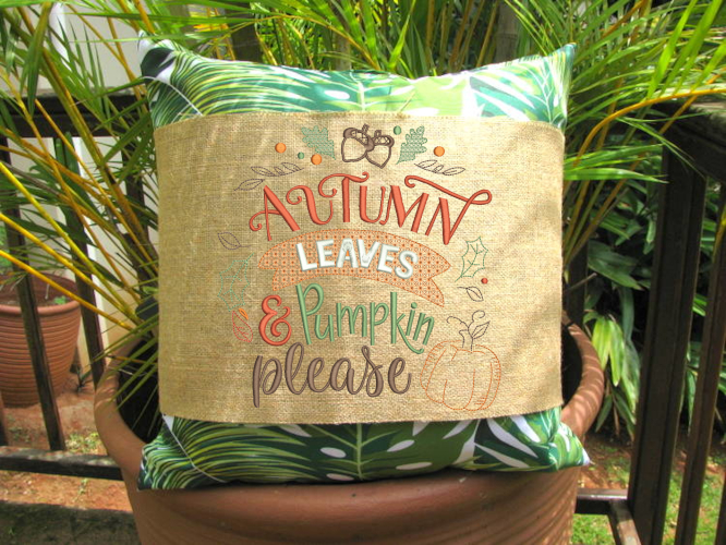 Autumn Leaves and Pumpkin Please