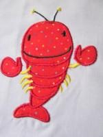 Baby Crayfish Applique