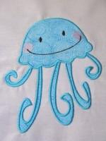 Baby Octopus Applique