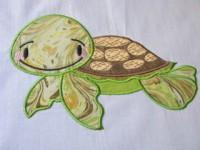 Baby Sea Turtle Applique