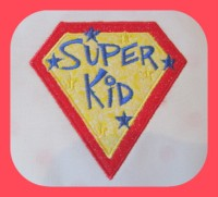 Super Kid Applique