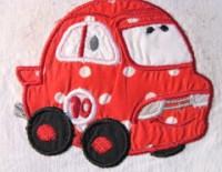 Fun Applique Cars 03