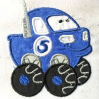 Fun Applique Cars 04