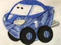 Fun Applique Cars 08