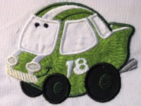 Fun Applique Cars 09