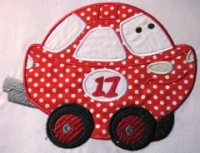 Fun Applique Cars 06