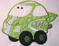 Fun Applique Cars 07