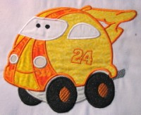 Fun Applique Cars 10