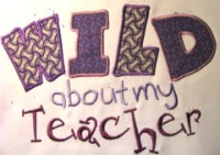 Wild About My Teacher