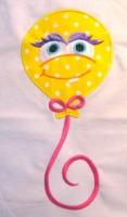 Monster Balloon 01 Applique
