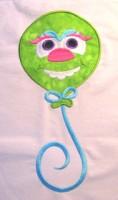 Monster Balloon 02 Applique