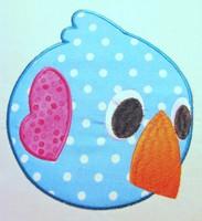 Love Birds 04 Applique