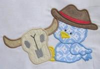 Cowboy Chicks 02 Applique