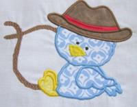 Cowboy Chicks 03 Applique