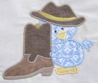Cowboy Chicks 05 Applique