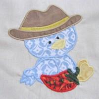 Cowboy Chicks 08 Applique