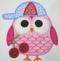Summer Owls 07 Applique