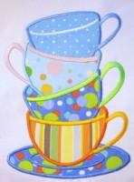 Tea Time 01 Applique