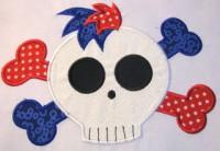 Pirate Skull 04 Applique