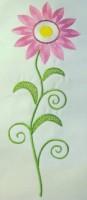 Vintage Flower 05 Filled