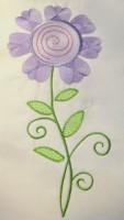 Vintage Flower 06 Filled