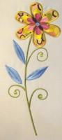 Vintage Flower 04 Applique