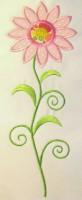 Vintage Flower 05 Applique