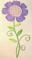 Vintage Flower 06 Applique