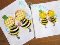 Meant To Bee 03 Applique