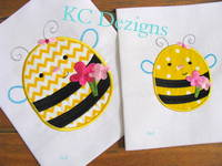 Meant To Bee 04 Applique