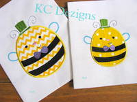 Meant To Bee 05 Applique