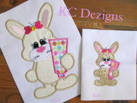 Bad Hare Day 04 Applique