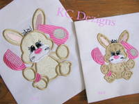 Bad Hare Day 05 Applique