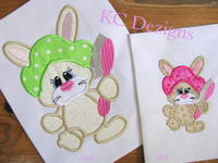 Bad Hare Day 03 Applique