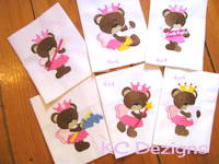 Tooth Fairy Bears Embroidery