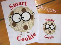 Smart Cookie Boy Applique