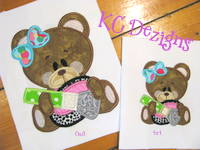 Beauty Bear 1 Applique
