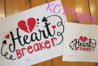 Heart Breaker Embroidery