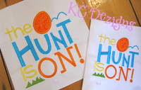 The Hunt Is On Applique