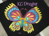 Pretty Butterflies 1 Machine Embroidery Design
