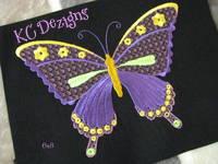 Pretty Butterflies 2 Machine Embroidery Design