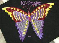 Pretty Butterflies 3 Machine Embroidery Design