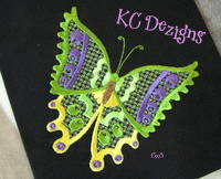 Pretty Butterflies 4 Machine Embroidery Design